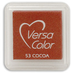 "Cocoa - VersaColor Pigment Ink Pad 1"" Cube"