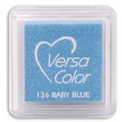 """Baby Blue - VersaColor Pigment Ink Pad 1"""" Cube"""