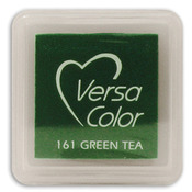 "Green Tea - VersaColor Pigment Ink Pad 1"" Cube"