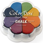 Primary Pastels - ColorBox Fluid Chalk Petal Point Option Ink Pad