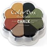 Autumn Pastels - ColorBox Fluid Chalk Petal Point Option Ink Pad
