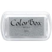 Silver - ColorBox Metallic Pigment Mini Ink Pad