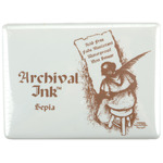 Sepia - Archival Jumbo Ink Pad #3