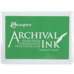 Emerald Green - Archival Jumbo Ink Pad #3