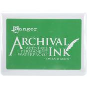 Emerald Green - Archival Jumbo Ink Pad #3