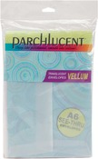"Clear - Leader A6 Parchlucent Vellum Envelopes (4.75""X6.5"") 25/Pkg"