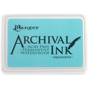 Aquamarine - Archival Ink Pad #0