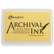 Chrome Yellow - Archival Ink Pad #0