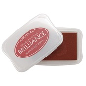 Pearlescent Poppy - Brilliance Pigment Ink Pad