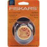 Sea Pearls 3-In-1 Corner Punch - Fiskars