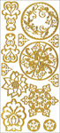 Gold Stenciling - Dazzles Stickers