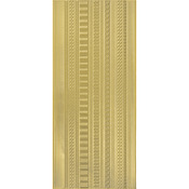 Gold Thin Lines - Dazzles Stickers