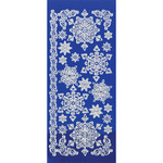 White Snowflakes - Dazzles Stickers