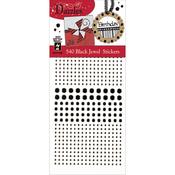 Black Jewels - Dazzles Stickers