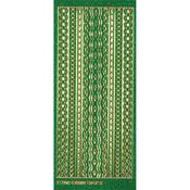 Green Jewel Borders - Dazzles Stickers