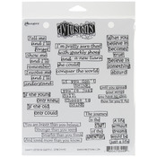 Quintessential Quotes - Dyan Reaveley's Dylusions Cling Stamp Collections