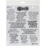 The Right Words - Dyan Reaveley's Dylusions Cling Stamp Collections