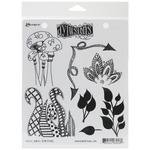Doodle Parts - Dyan Reaveley's Dylusions Cling Stamp Collections