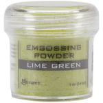 Lime Green - Embossing Powder 1oz Jar