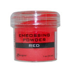 Red - Embossing Powder 1oz Jar