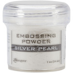 Silver Pearl - Embossing Powder 1oz Jar