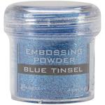 Blue Tinsel - Embossing Powder 1oz Jar
