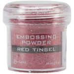 Red Tinsel Embossing Powder - Ranger