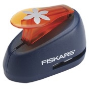 Flower Medium Lever Punch - Fiskars
