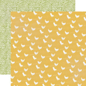 Cheerful Chickens Paper - Made From Scratch - Echo Park