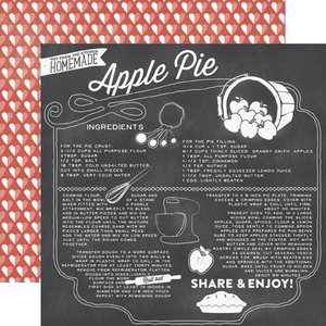 Apple Pie Paper - Made From Scratch - Echo Park