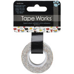 Tape Works Tape -Birds & Polka Dot Clouds