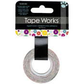 """Multicolor Floral - Tape Works Tape .625""""X50'"""