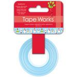 """Snowmen - Tape Works Tape .625""""X50'"""