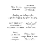 Get Well - Words To The Rescue Clear Stamp Set