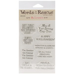 Halloween - Words To The Rescue Clear Stamp Set