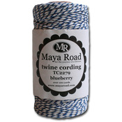 Blueberry - Maya Road Twine Cording 100yd