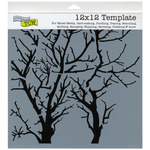 """Branches Reversed - Crafter's Workshop Template 12""""X12"""""""