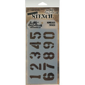 Numbered - Tim Holtz Layered Stencil