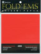 "Fold 'Ems Origami Paper 5.875"" 50/Pkg-"