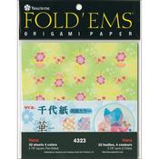 """Hana - Fold 'Ems Origami Paper 5.875"""" 32/Pkg"""