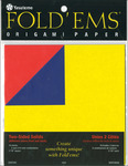 "Fold 'Ems Origami Two - Sided Solid Paper 5.875"" 18/Pkg-"