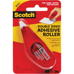 ".27""X8.7yd - Scotch Double-Sided Adhesive Roller"