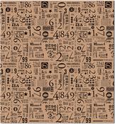 """Numero - Tissue Paper 20""""X30"""" 4/Pkg"""