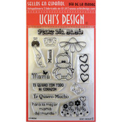 Dia De La Madre (Mother's Day) - Uchi's Design Spanish Clear Stamp Set