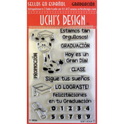 Graduacion (Graduation) - Uchi's Design Spanish Clear Stamp Set