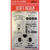 Amor (Love) - Uchi's Design Spanish Clear Stamp Set