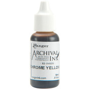 Chrome Yellow - Archival Re - Inker