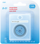 Straight - Carl Professional Rotary Trimmer Replacement Blade