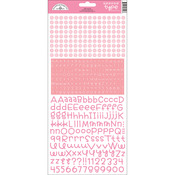 Cupcake - Teensy Type Cardstock Alphabet Stickers