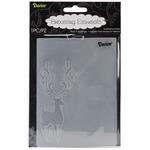 """Reindeer - Embossing Folder 4.25""""X5.75"""""""
